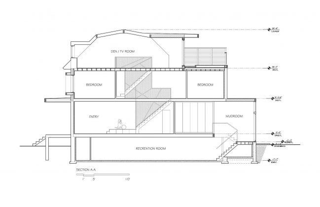 Выход из тени интересный проект студии POST Architecture 21