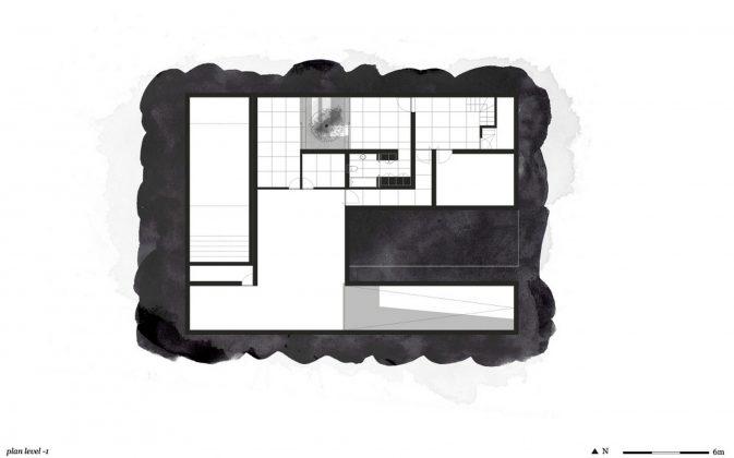 Дом из 5 террас и сада по проекту студии Corpo Atelier 31