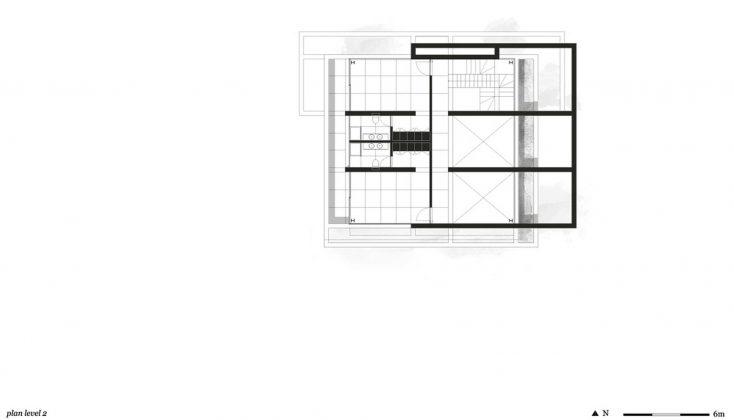 Дом из 5 террас и сада по проекту студии Corpo Atelier 33