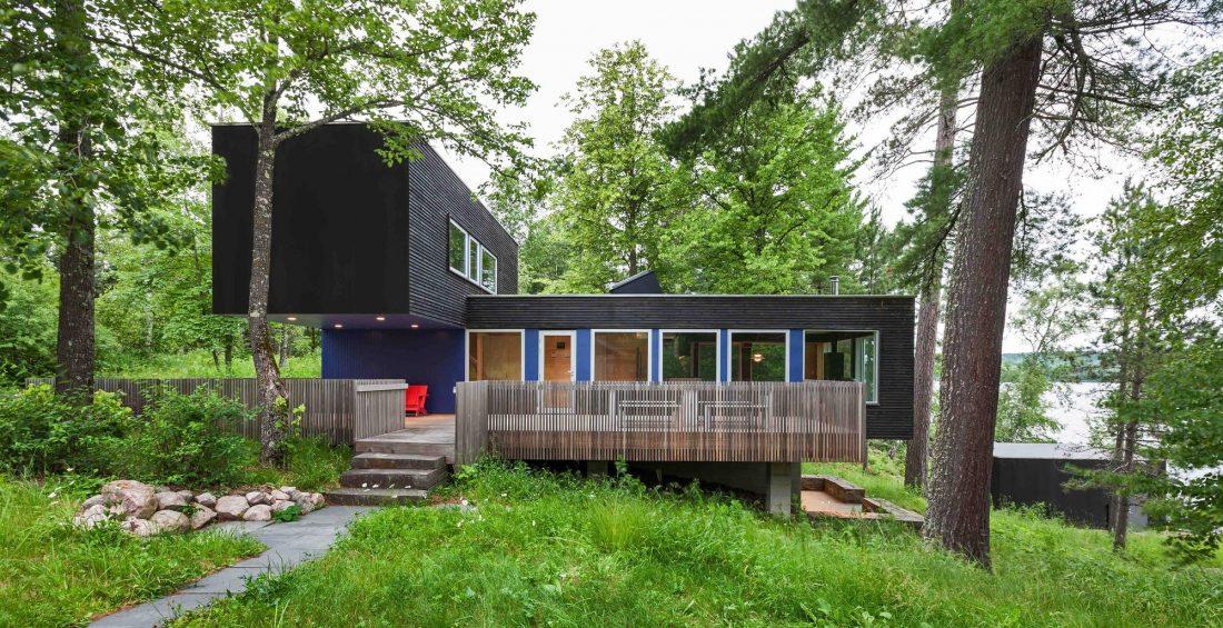 Дом на берегу озера от студии Salmela Architect 1