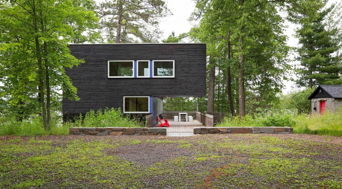 Дом на берегу озера от студии Salmela Architect 11