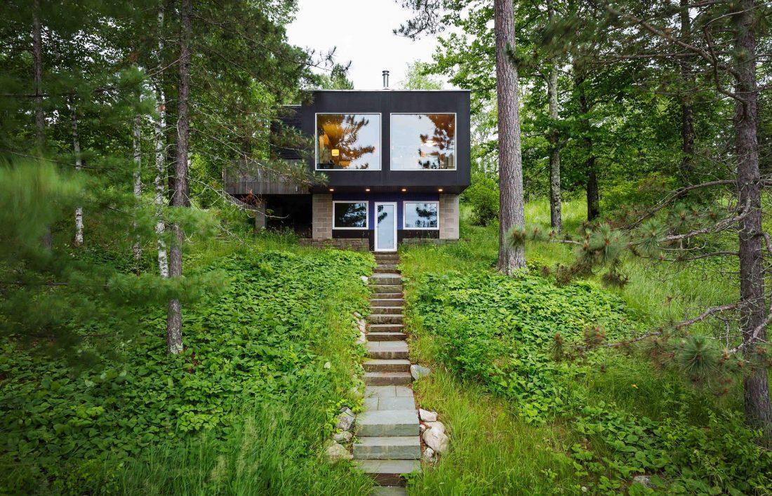 Дом на берегу озера от студии Salmela Architect 12
