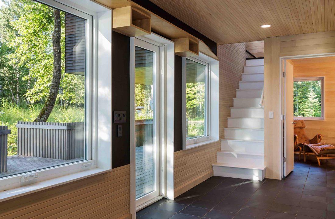 Дом на берегу озера от студии Salmela Architect 13