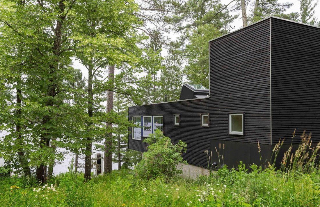 Дом на берегу озера от студии Salmela Architect 14