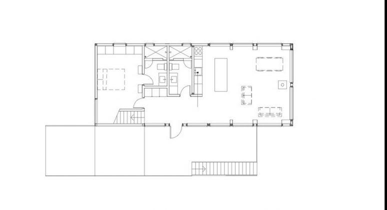 Дом на берегу озера от студии Salmela Architect 17