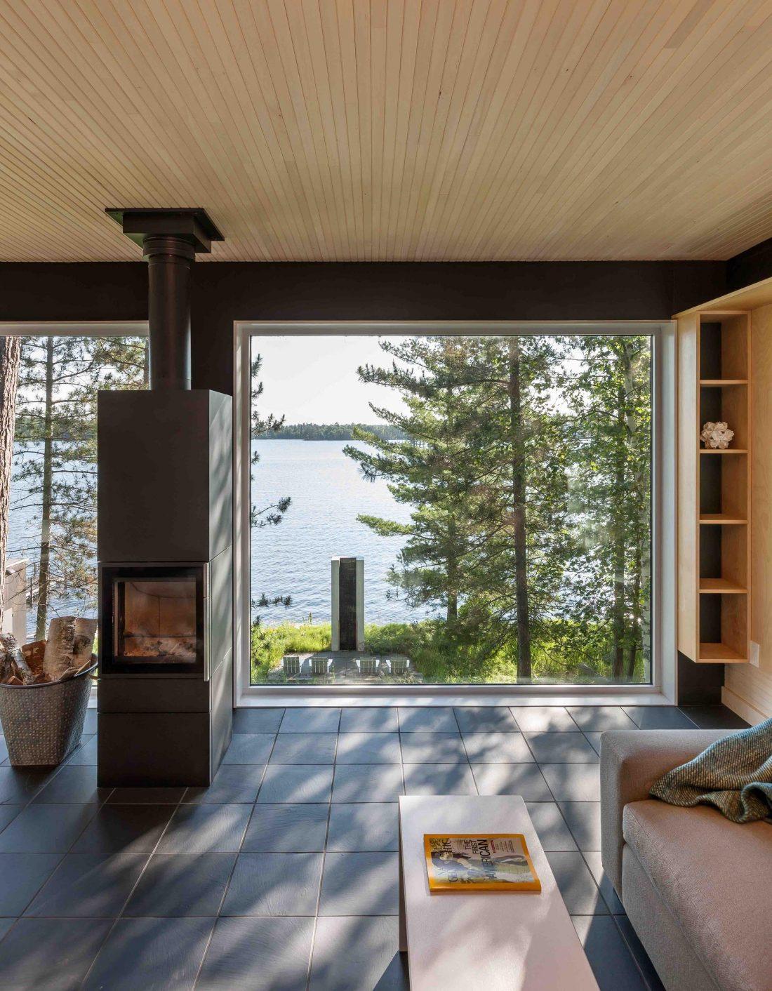 Дом на берегу озера от студии Salmela Architect 2