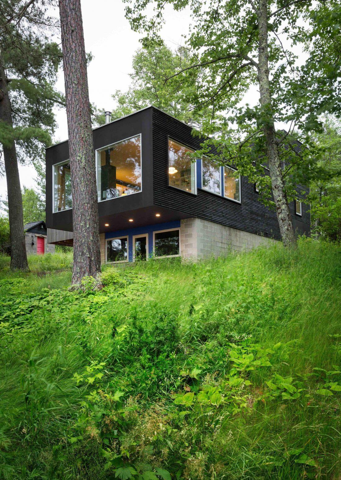 Дом на берегу озера от студии Salmela Architect 3