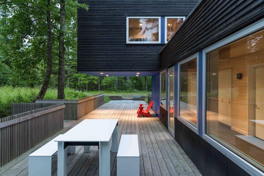 Дом на берегу озера от студии Salmela Architect 4