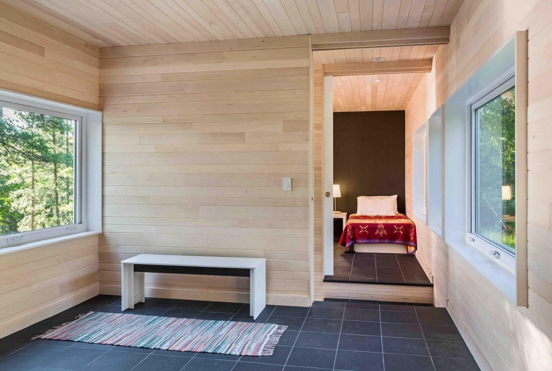 Дом на берегу озера от студии Salmela Architect 5