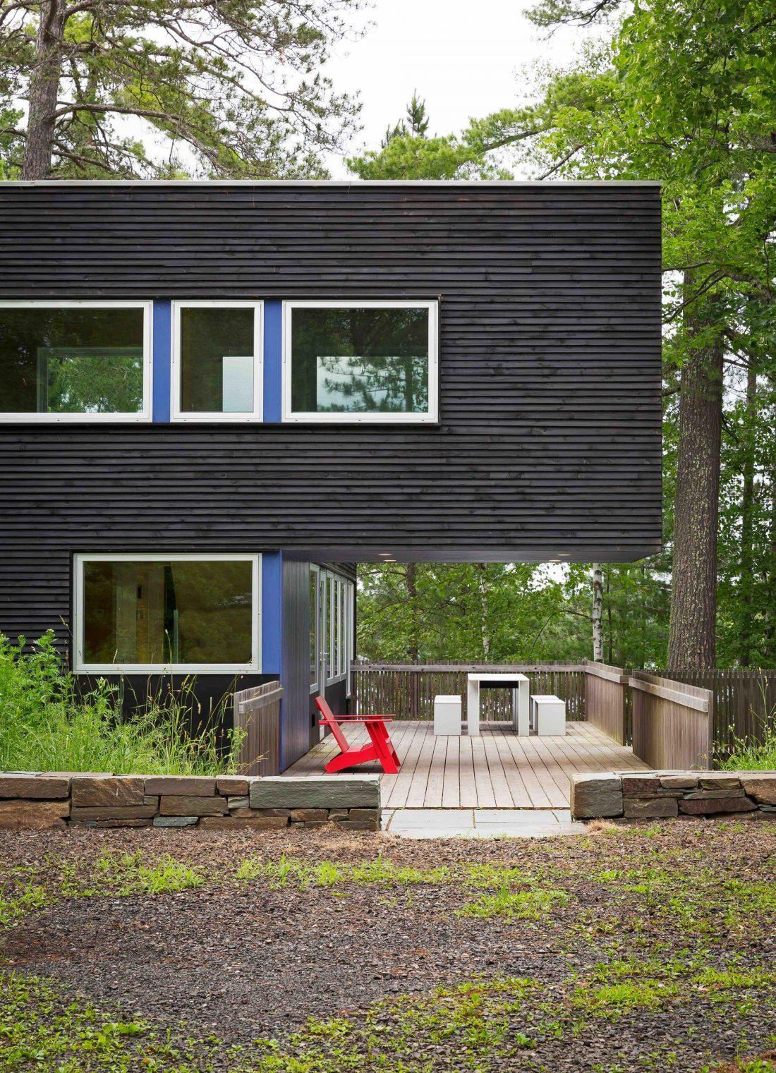 Дом на берегу озера от студии Salmela Architect 6