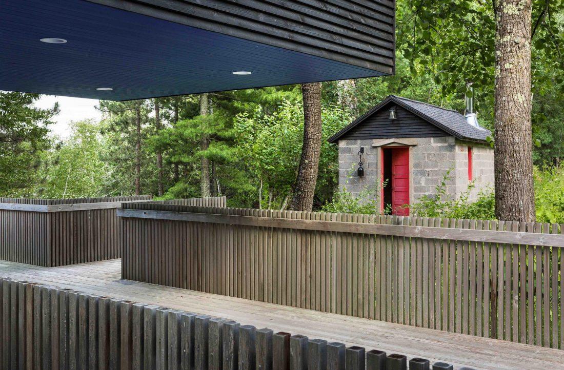 Дом на берегу озера от студии Salmela Architect 7