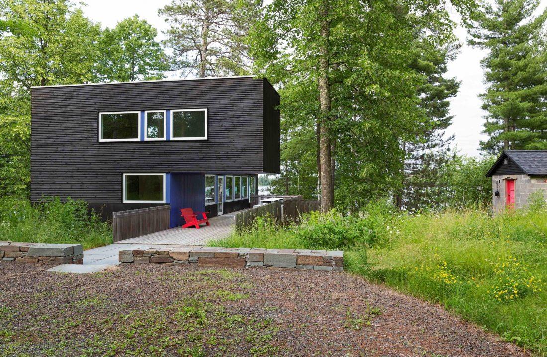 Дом на берегу озера от студии Salmela Architect 9