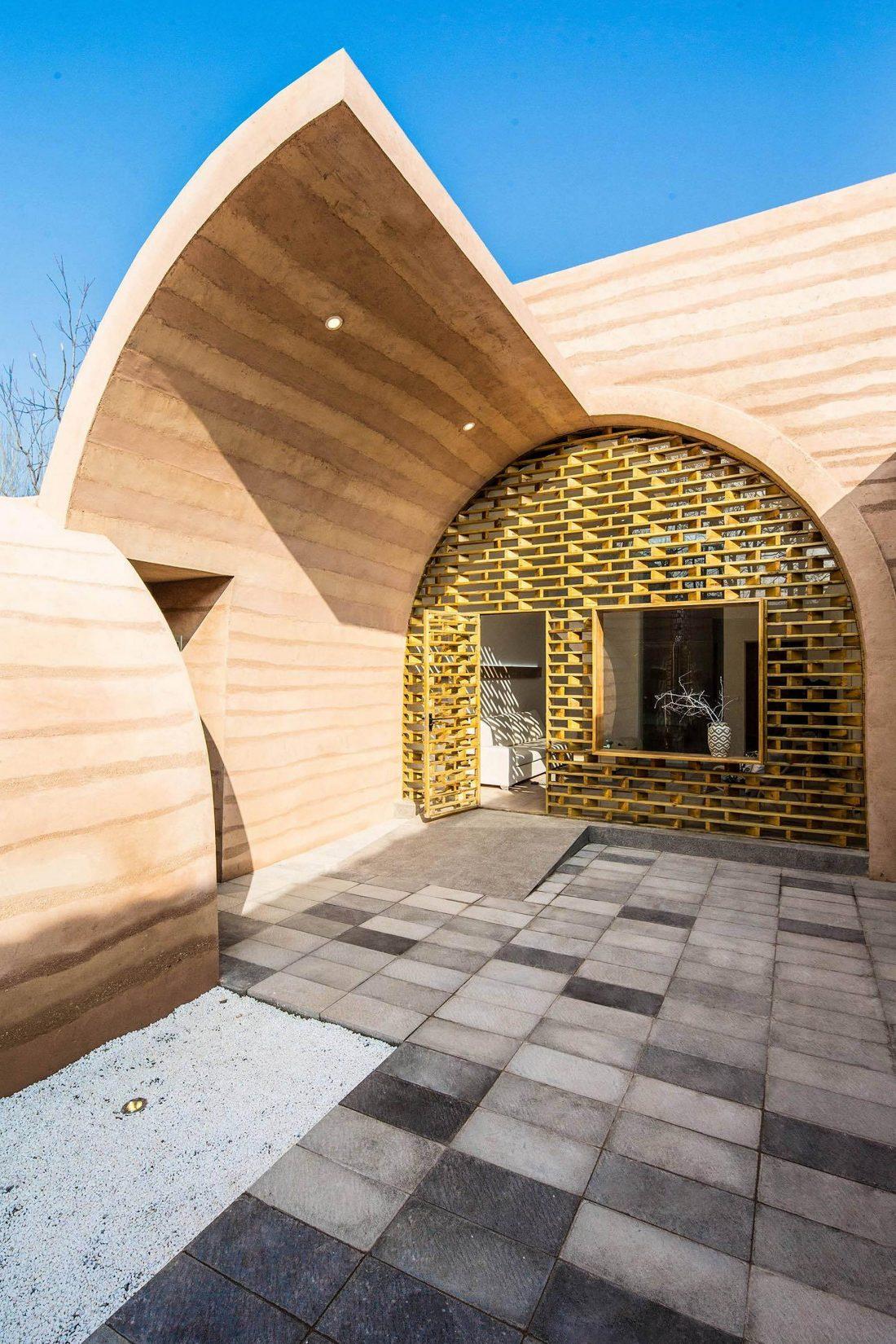 Дом в пещере от hyperSity Architects 13