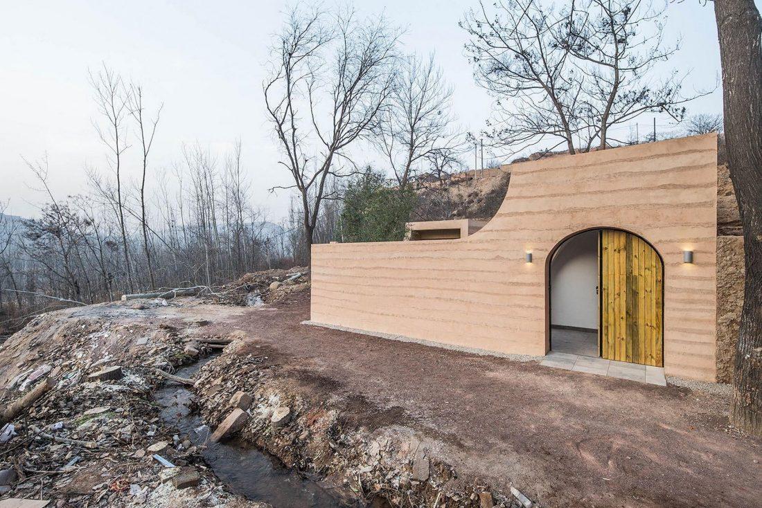 Дом в пещере от hyperSity Architects 20