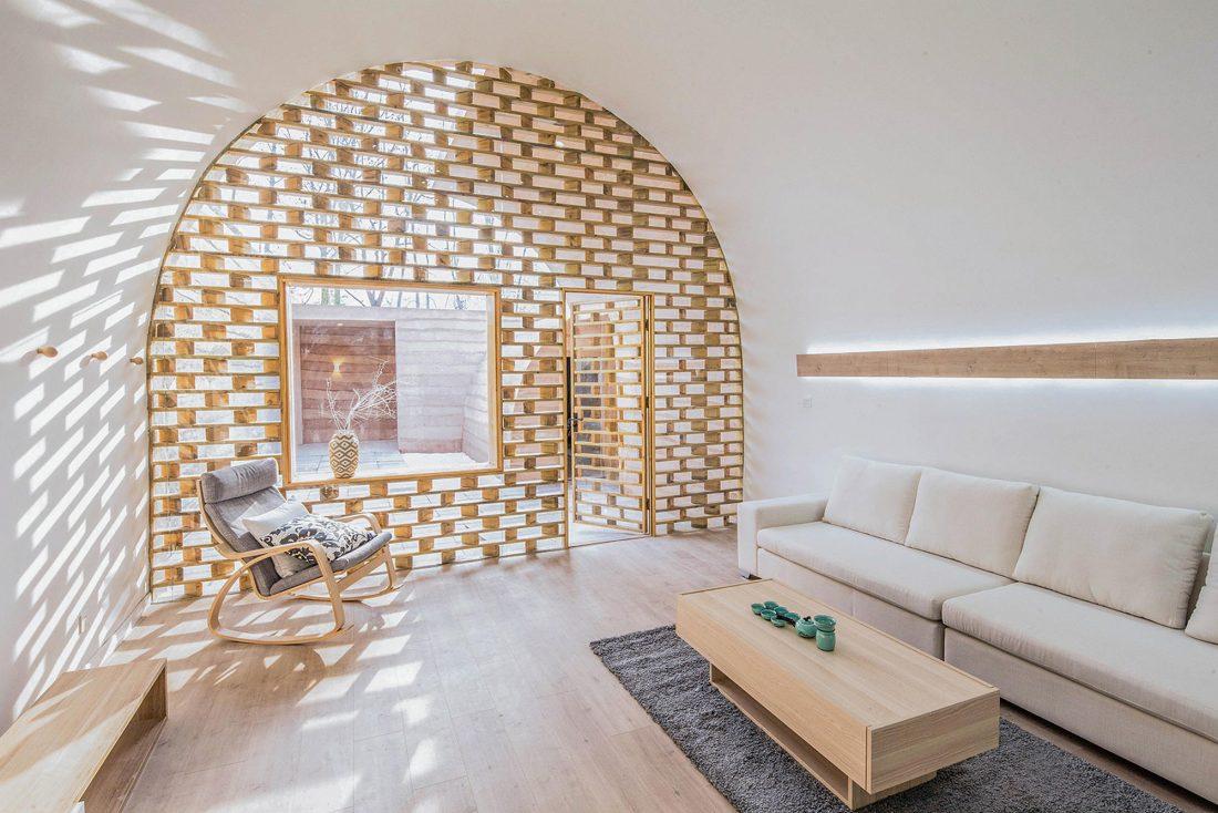 Дом в пещере от hyperSity Architects 22