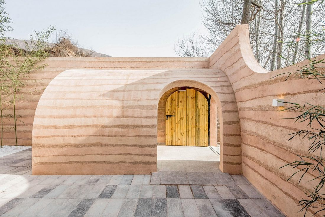 Дом в пещере от hyperSity Architects 3