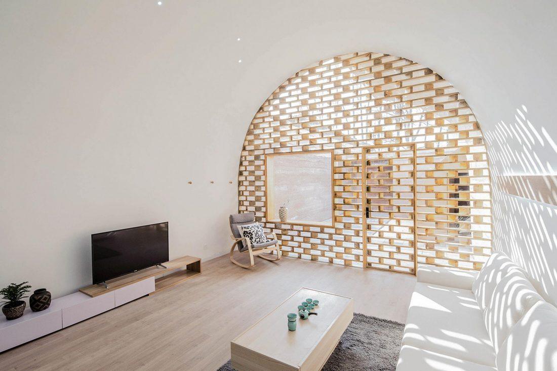 Дом в пещере от hyperSity Architects 33