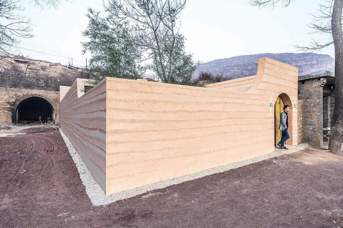 Дом в пещере от hyperSity Architects 45