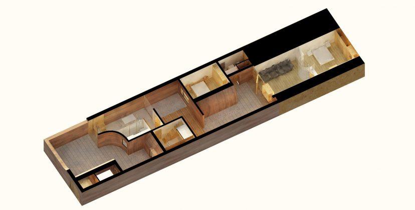 Дом в пещере от hyperSity Architects 51