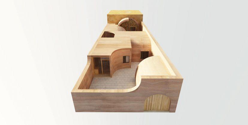 Дом в пещере от hyperSity Architects 52