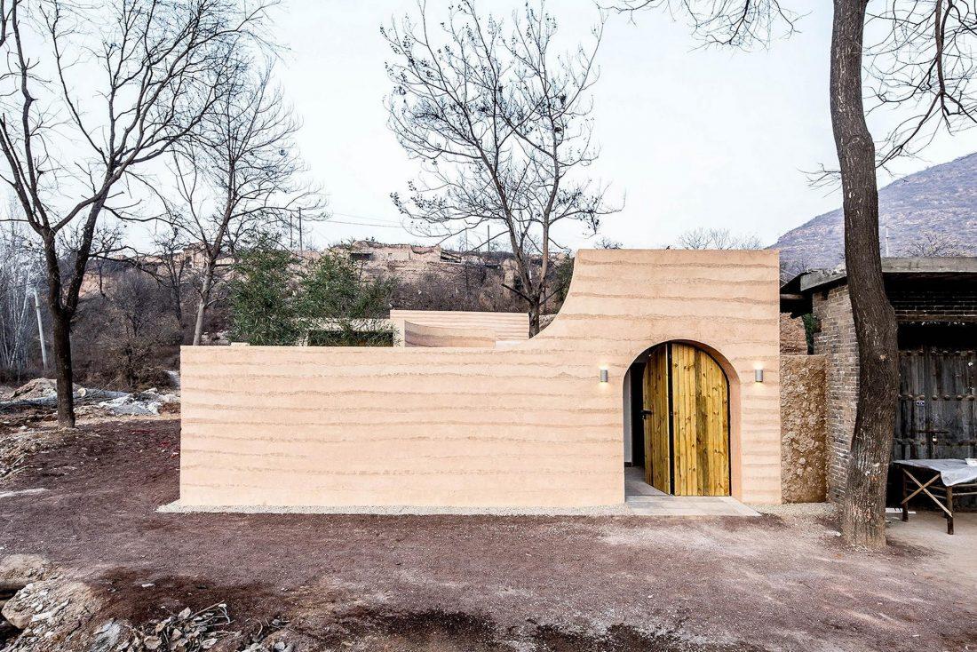 Дом в пещере от hyperSity Architects 6