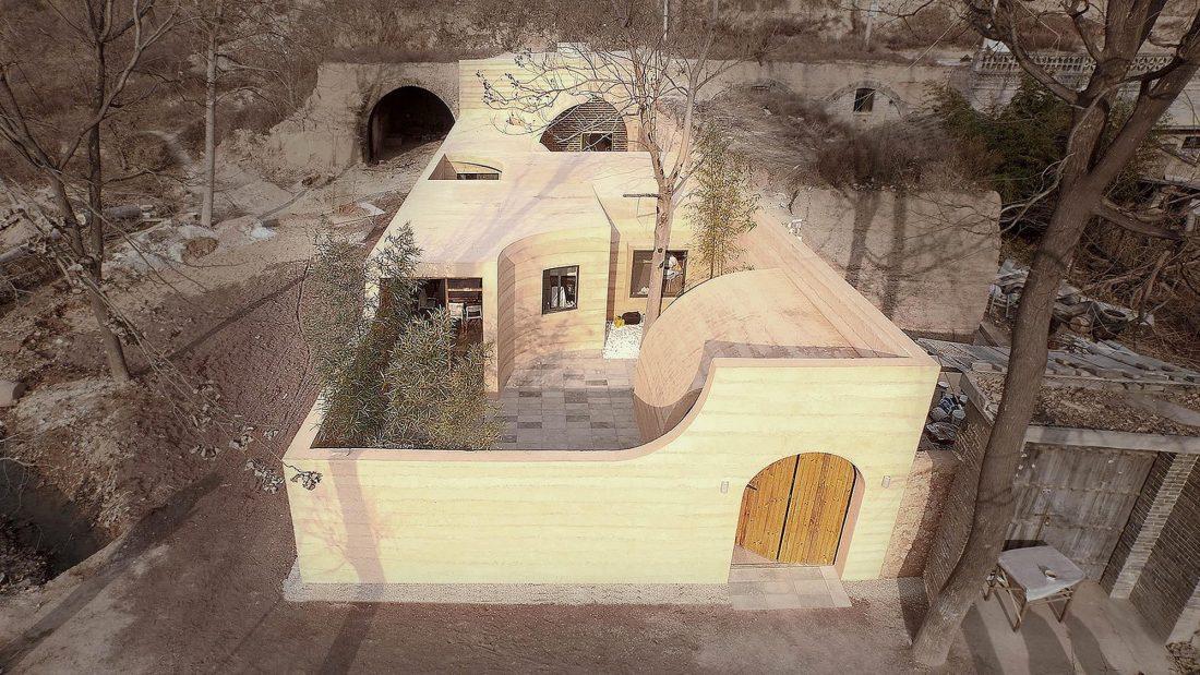 Дом в пещере от hyperSity Architects 7