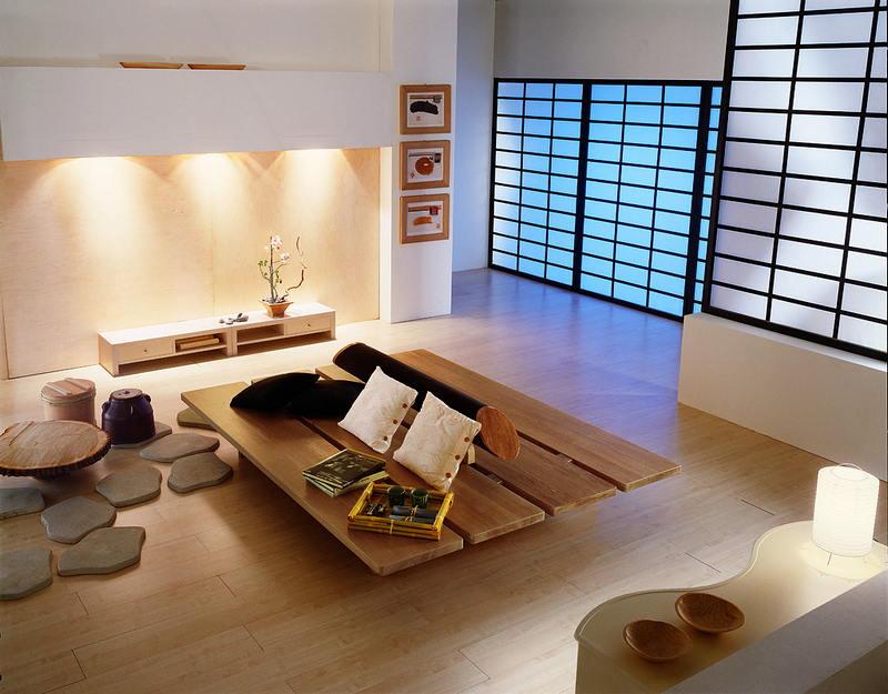 Фотографии интерьеров в японском стиле 16