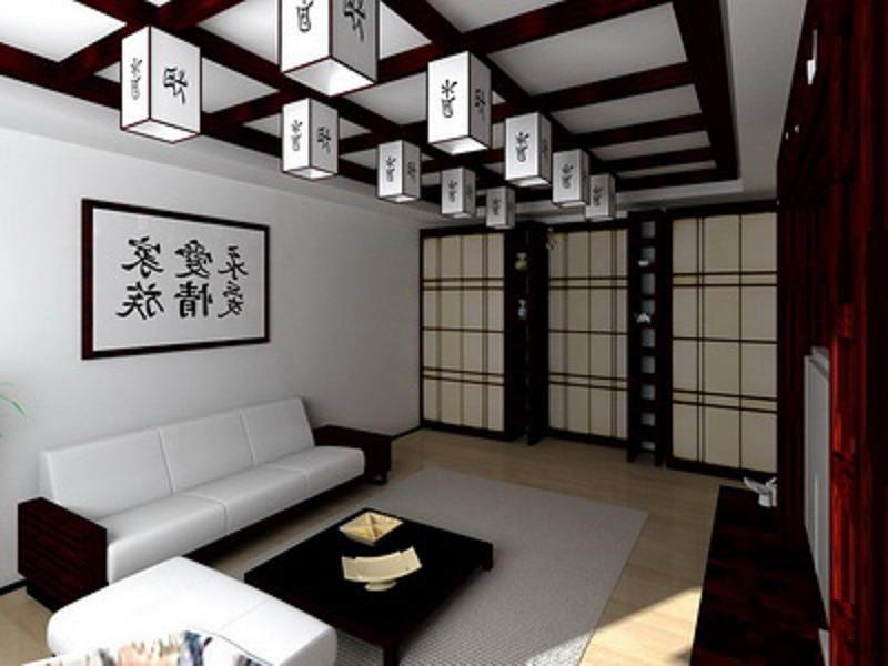 Фотографии интерьеров в японском стиле 21