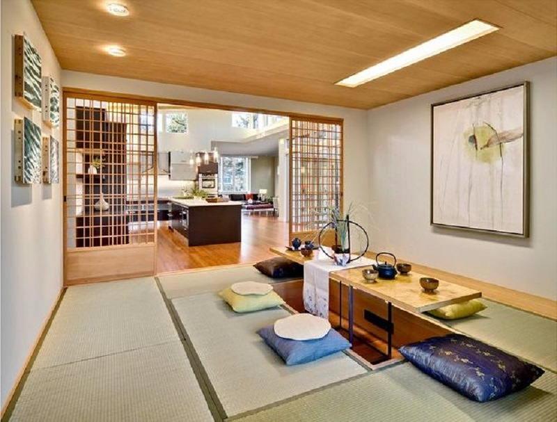 Фотографии интерьеров в японском стиле 28