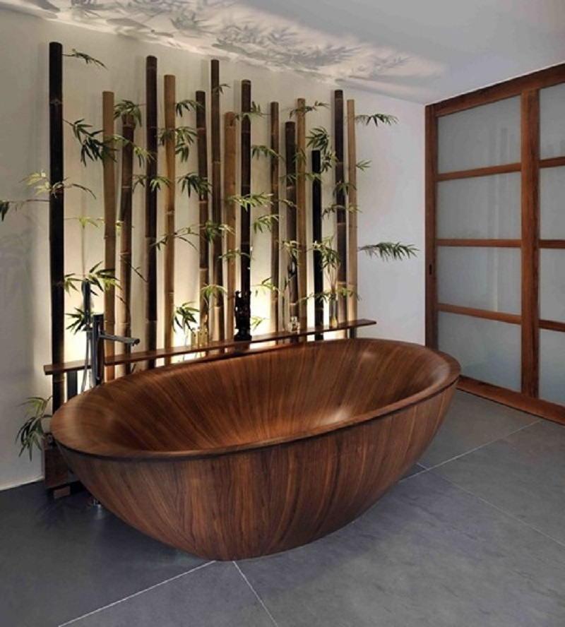 Фотографии интерьеров в японском стиле 34