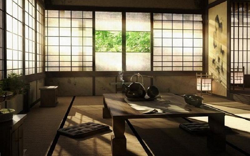Фотографии интерьеров в японском стиле 37