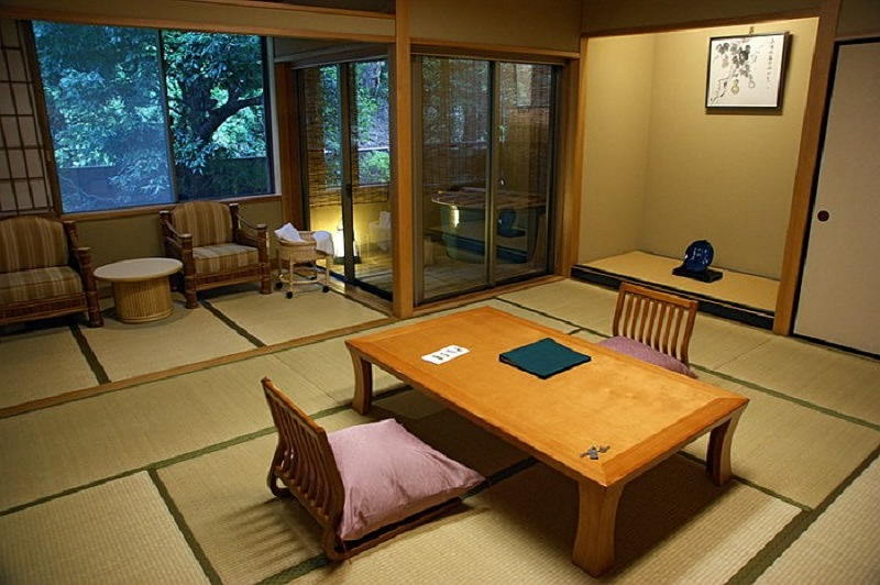 Фотографии интерьеров в японском стиле 38