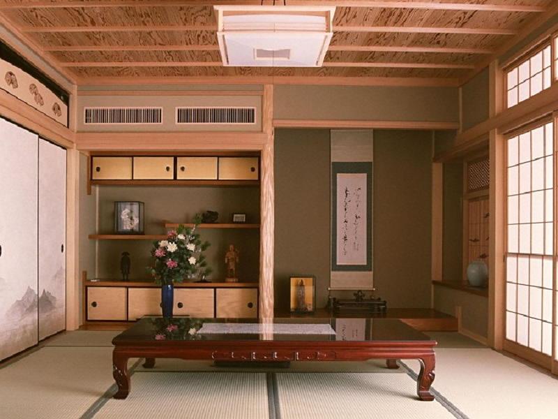 Фотографии интерьеров в японском стиле 39