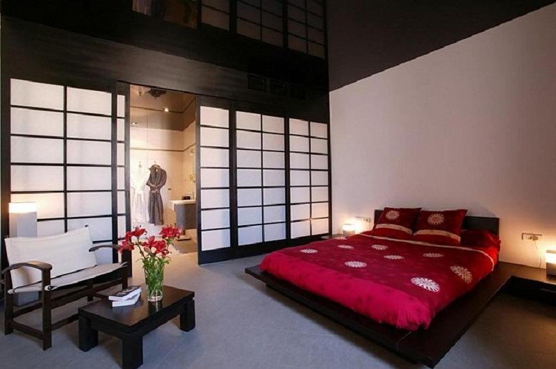 Фотографии интерьеров в японском стиле 42