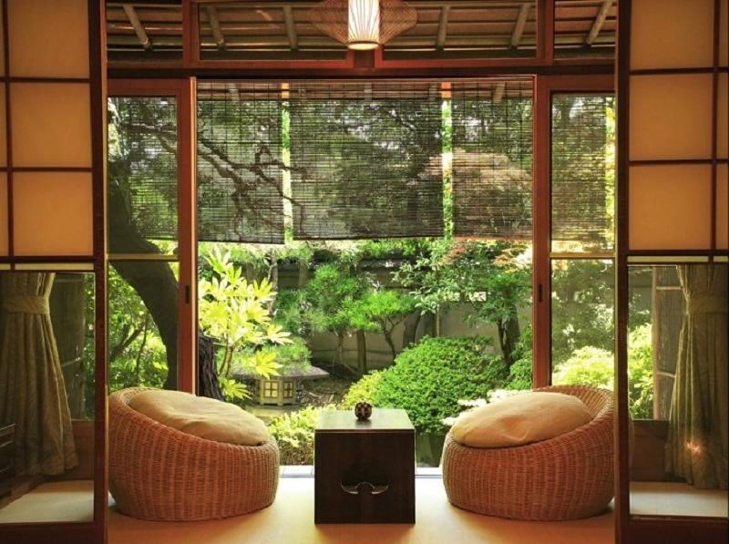 Фотографии интерьеров в японском стиле 43