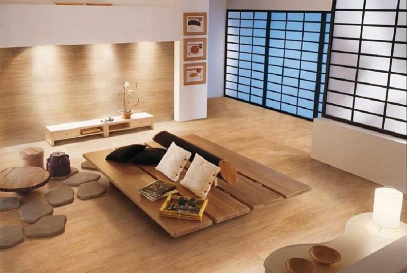 Фотографии интерьеров в японском стиле 44
