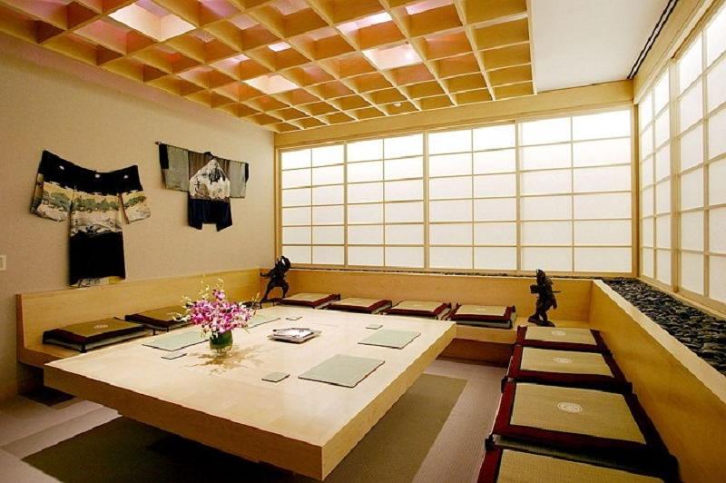 Фотографии интерьеров в японском стиле 45