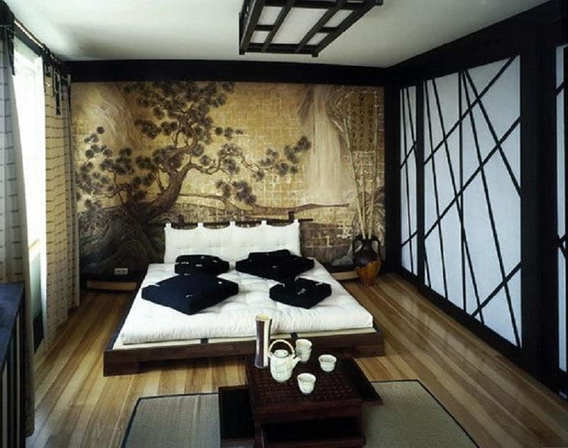 Фотографии интерьеров в японском стиле 51