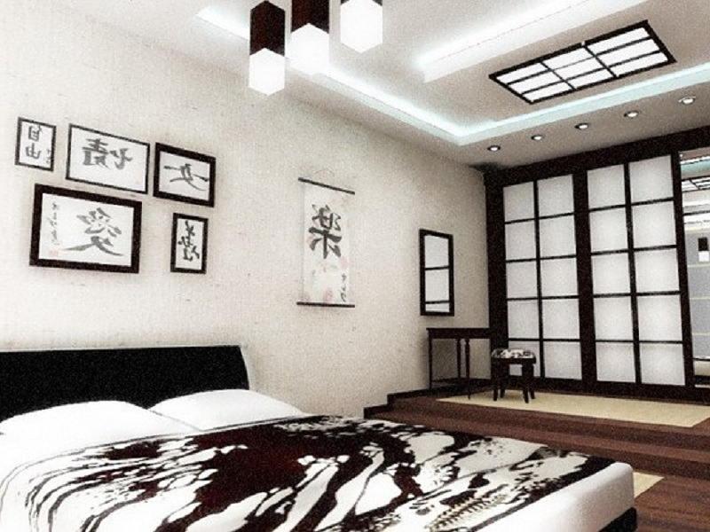 Фотографии интерьеров в японском стиле 55