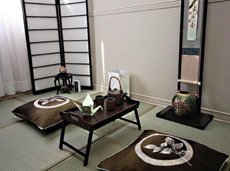Фотографии интерьеров в японском стиле 57