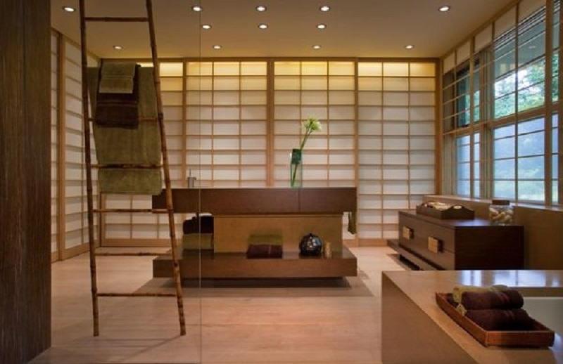Фотографии интерьеров в японском стиле 63