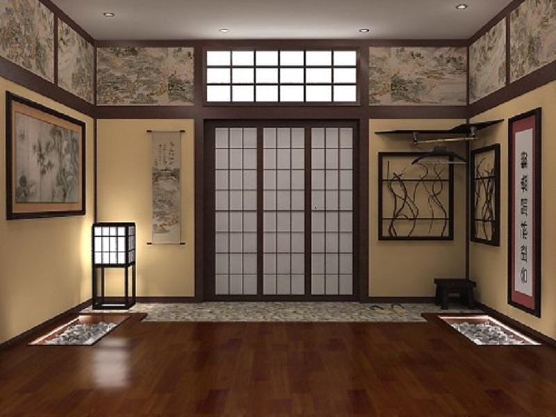 Фотографии интерьеров в японском стиле 92