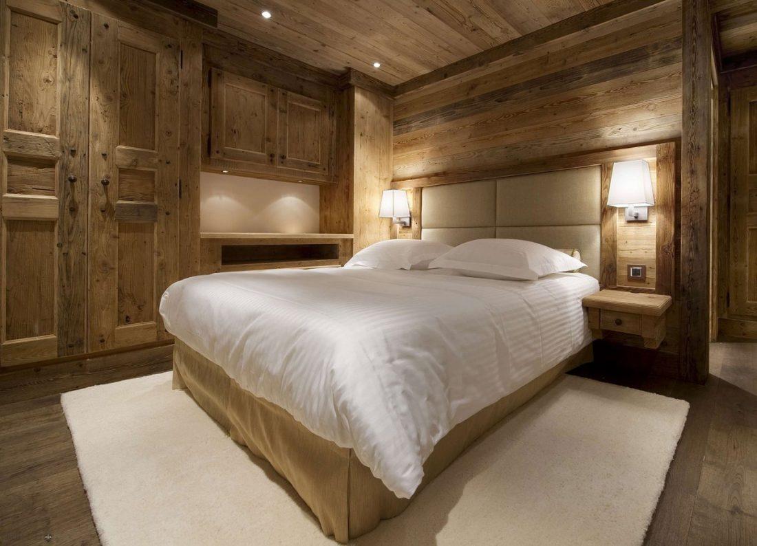 Кантри стиль в интерьере спальни 3