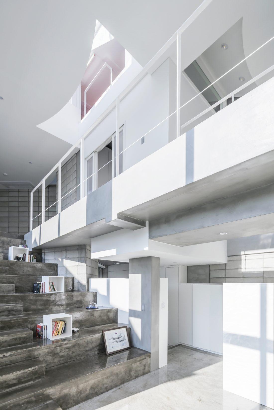 Летающий дом от студии IROJE KHM Architects 11