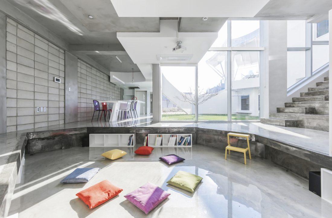 Летающий дом от студии IROJE KHM Architects 2