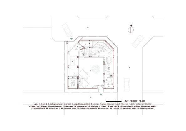 Летающий дом от студии IROJE KHM Architects 24