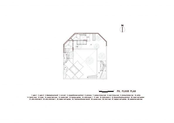 Летающий дом от студии IROJE KHM Architects 26