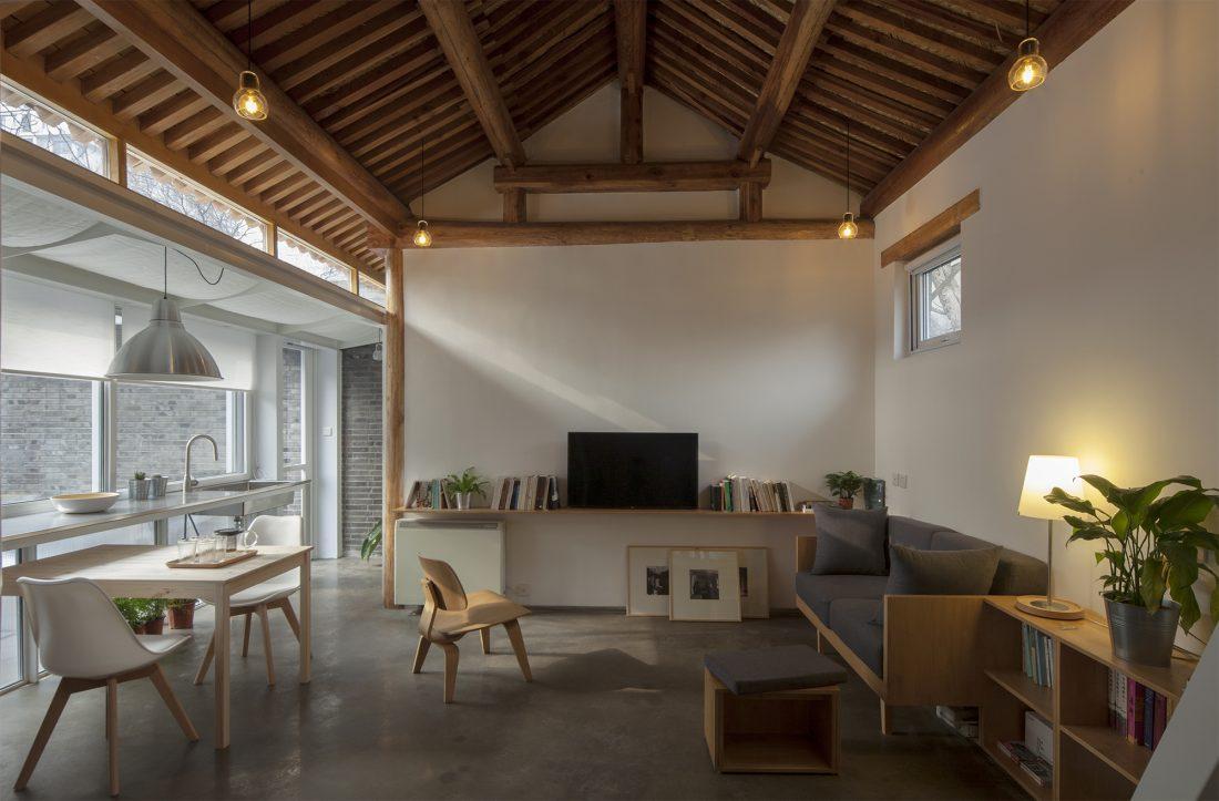 Обновление дома в Пекине по проекту студии OEU-ChaO 1