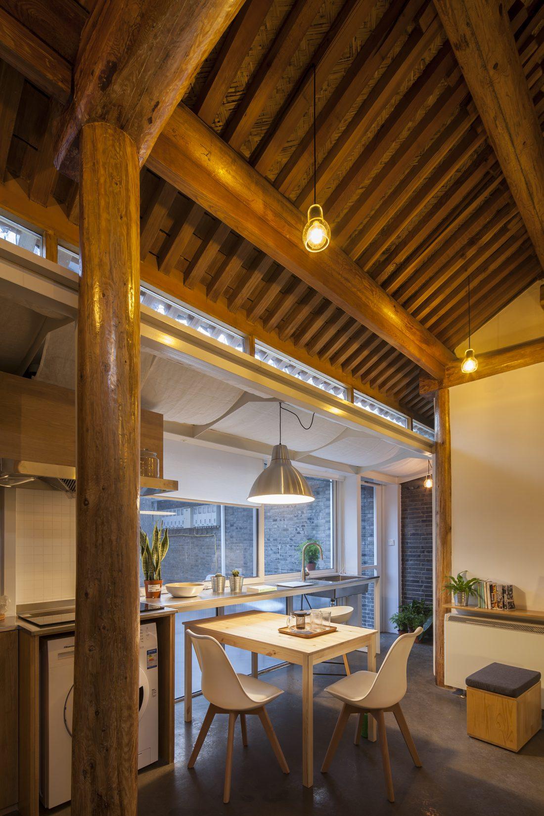 Обновление дома в Пекине по проекту студии OEU-ChaO 14