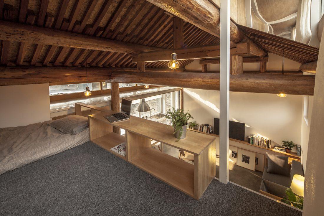 Обновление дома в Пекине по проекту студии OEU-ChaO 15